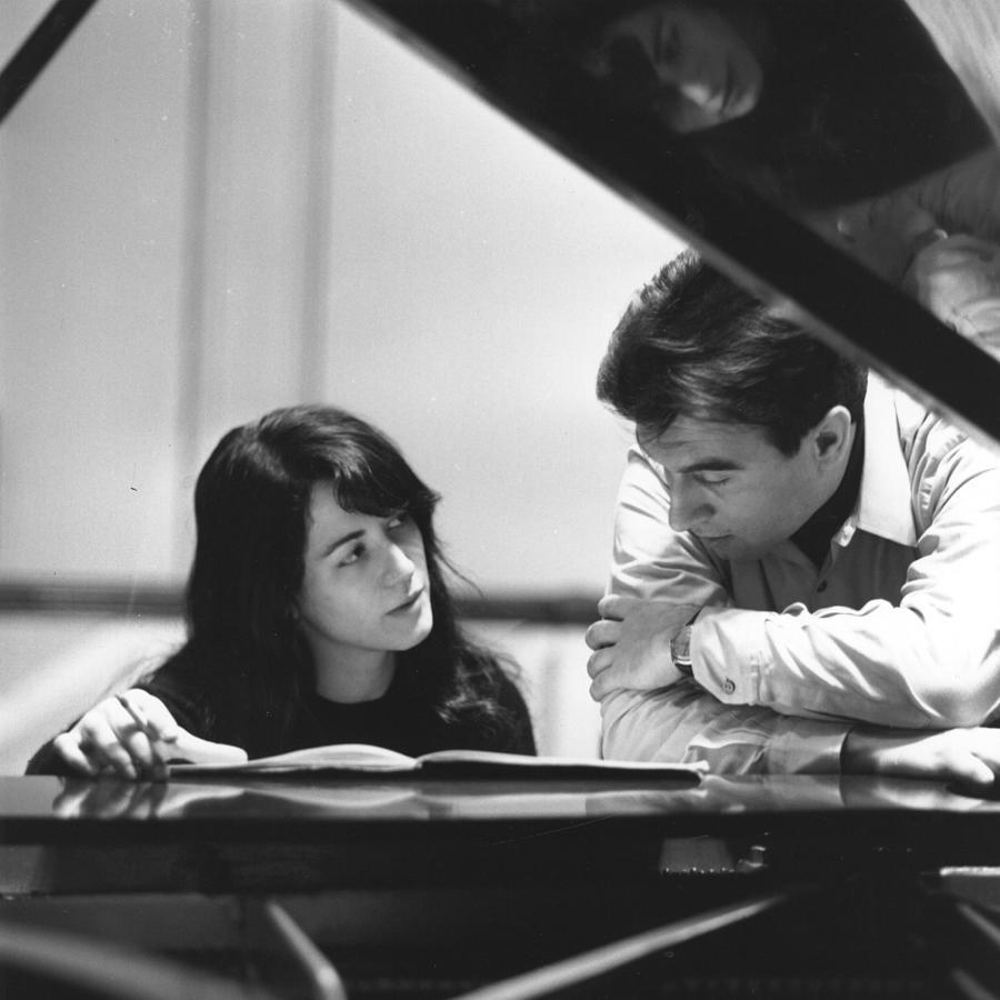 Claudio Abbado Photograph by Erich Auerbach