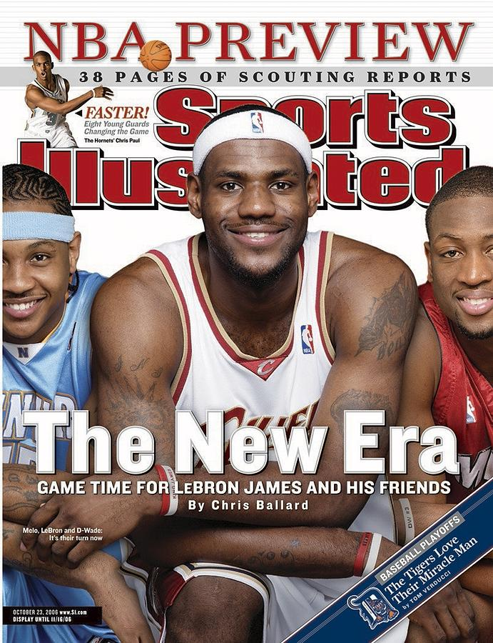 Cleveland Cavaliers LeBron James Sports Illustrated Cover Photograph by Sports Illustrated