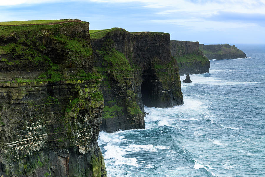 Cliffs Of Moher Photograph by Sasar