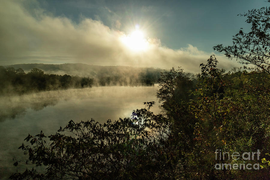 Clinch River Sunrise Tennessee by Garry McMichael