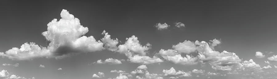 Horizontal Photograph - Cloudy Sky, Baden Wurttemberg, Germany by Panoramic Images