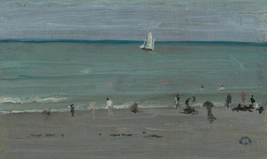 Coast Scene, Bathers by James Abbott McNeill Whistler