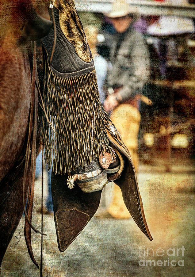 Cody Spur and Cowboy II by Craig J Satterlee