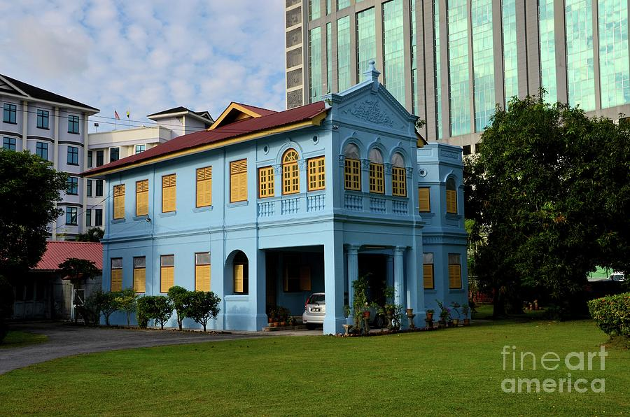 Colonial house chapel and lawn of True Jesus Church Ipoh Malaysia by Imran Ahmed