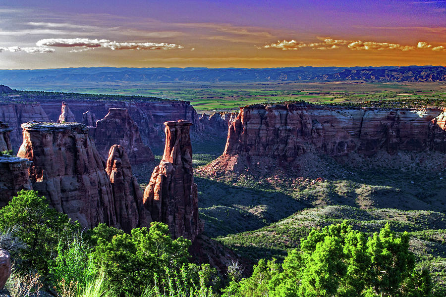 Colorado National Monument by Richard Risely