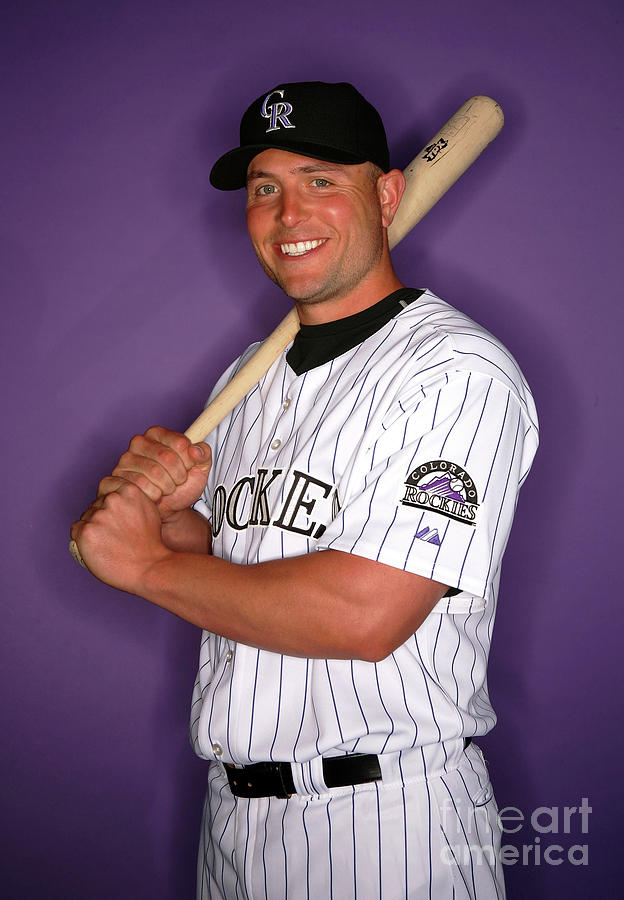 Colorado Rockies Photo Day 1 Photograph by Jeff Gross
