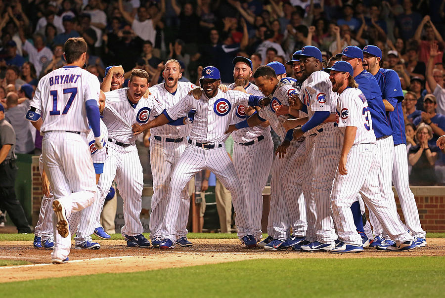 Colorado Rockies V Chicago Cubs Photograph by Jonathan Daniel