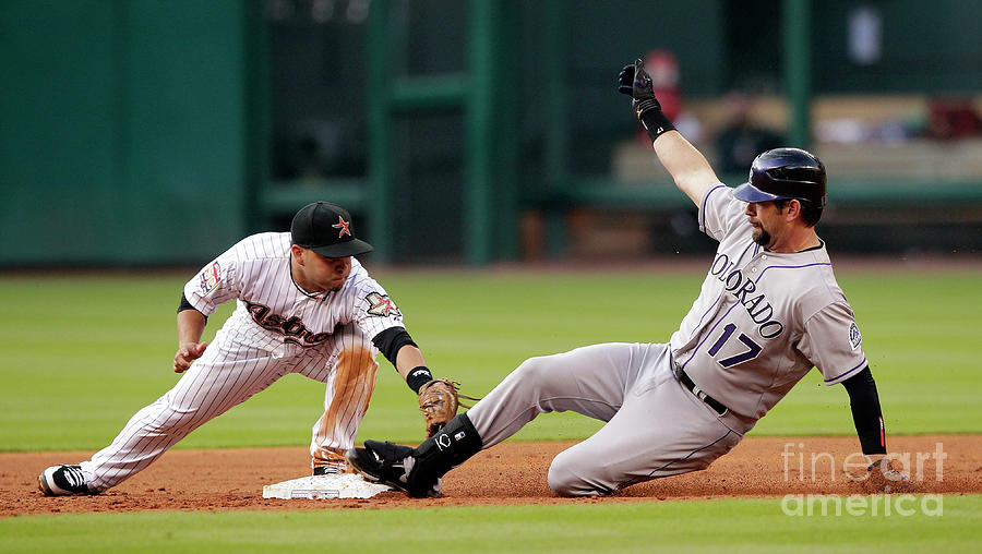 Colorado Rockies V Houston Astros Photograph by Bob Levey