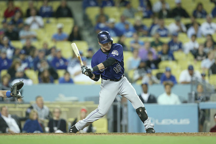 Colorado Rockies V Los Angeles Dodgers Photograph by Stephen Dunn