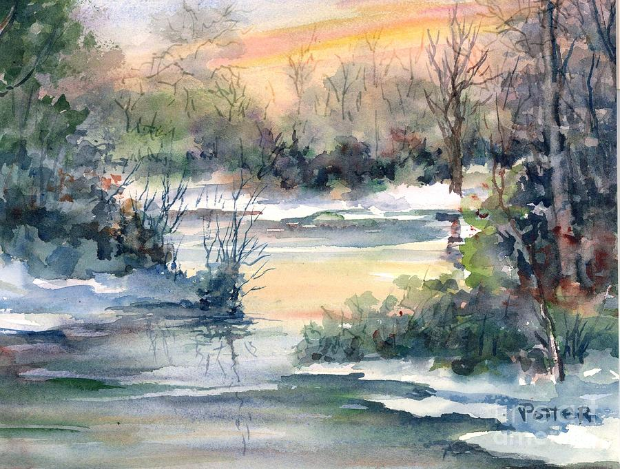 Colors of Winter by Virginia Potter