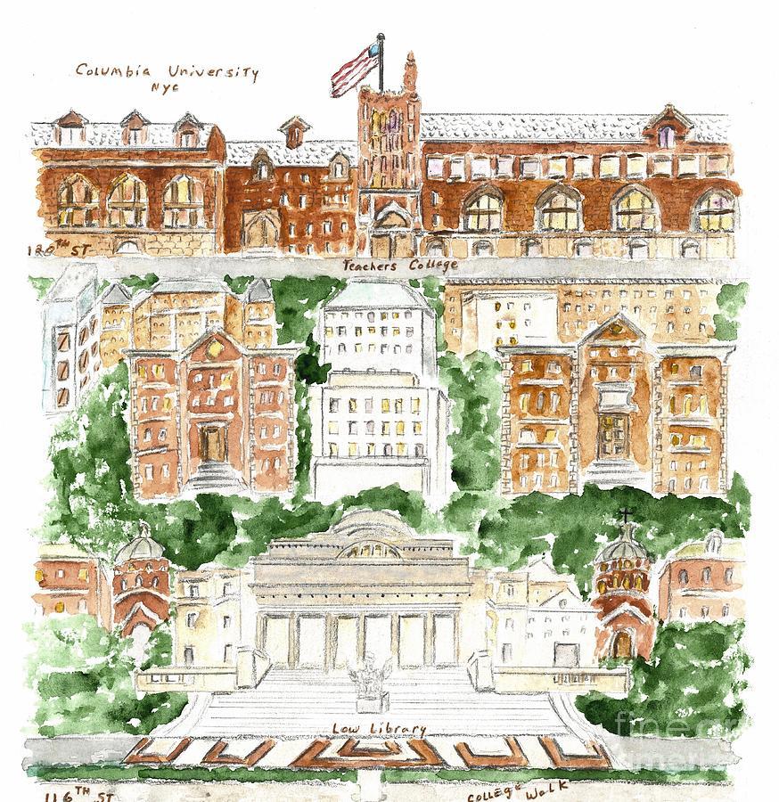 Columbia University by Afinelyne