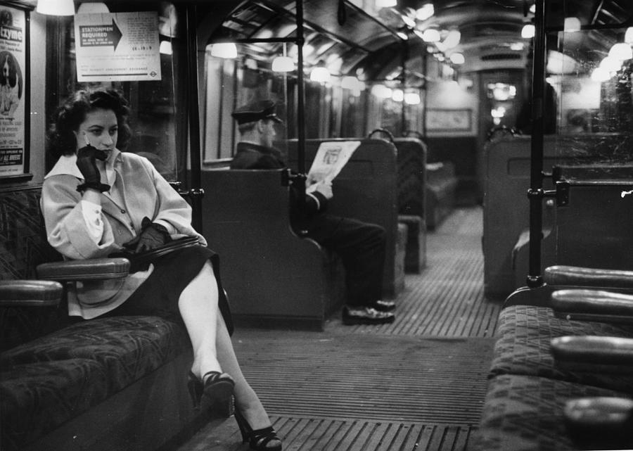 Commuter Photograph by Bert Hardy