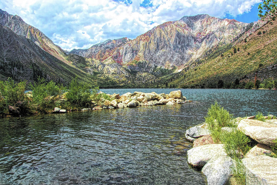 Convict Lake Marina by Joe Lach
