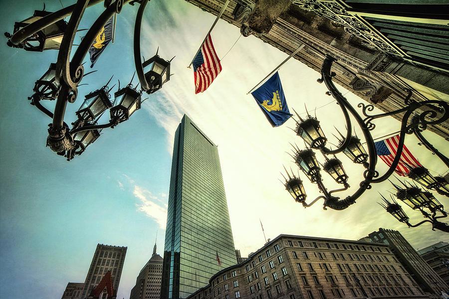 Copley Square - Boston Architecture by Joann Vitali
