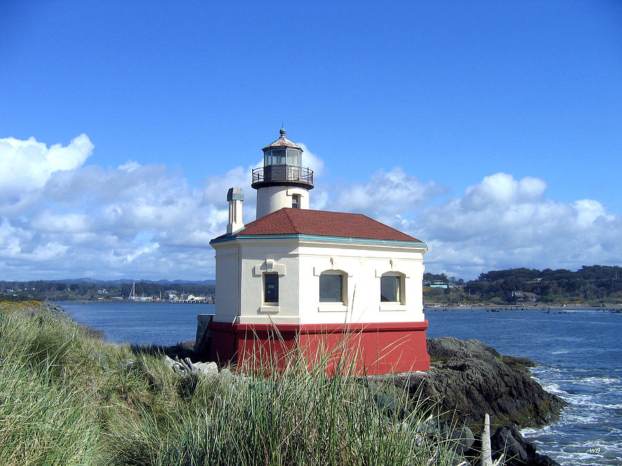 Coquille Lighthouse Photograph