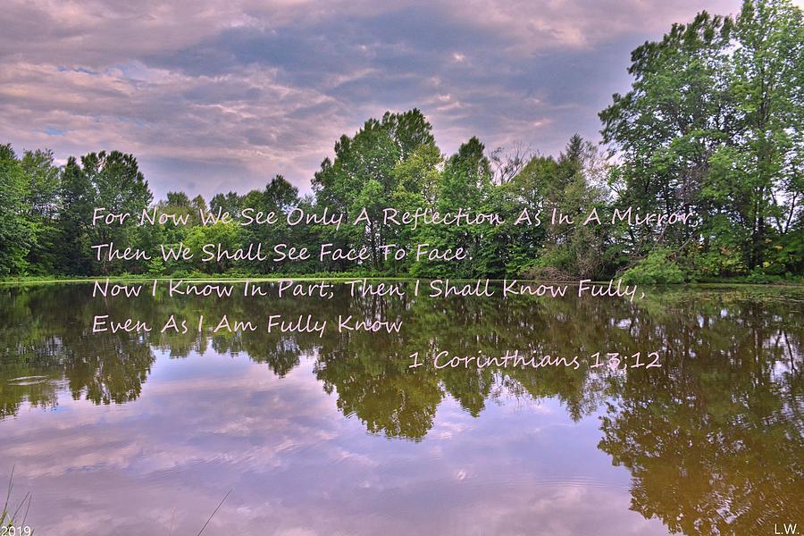 1 Corinthians 13 12 Reflection by Lisa Wooten