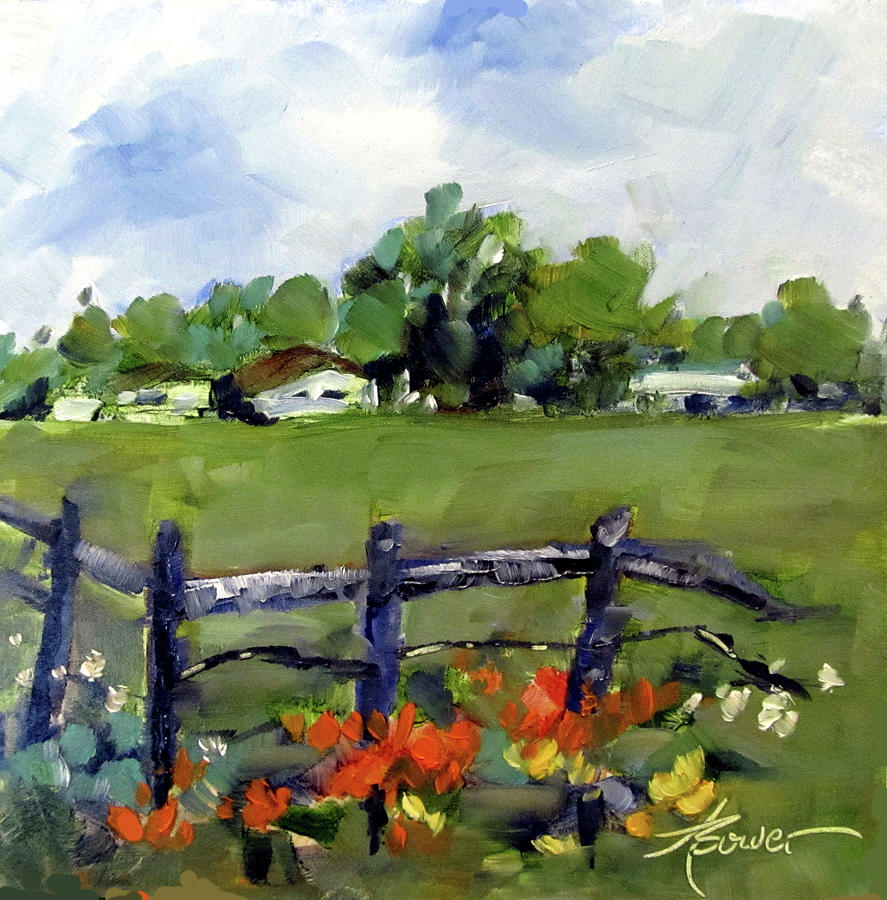 Corner Lot-Texas Style  by Adele Bower