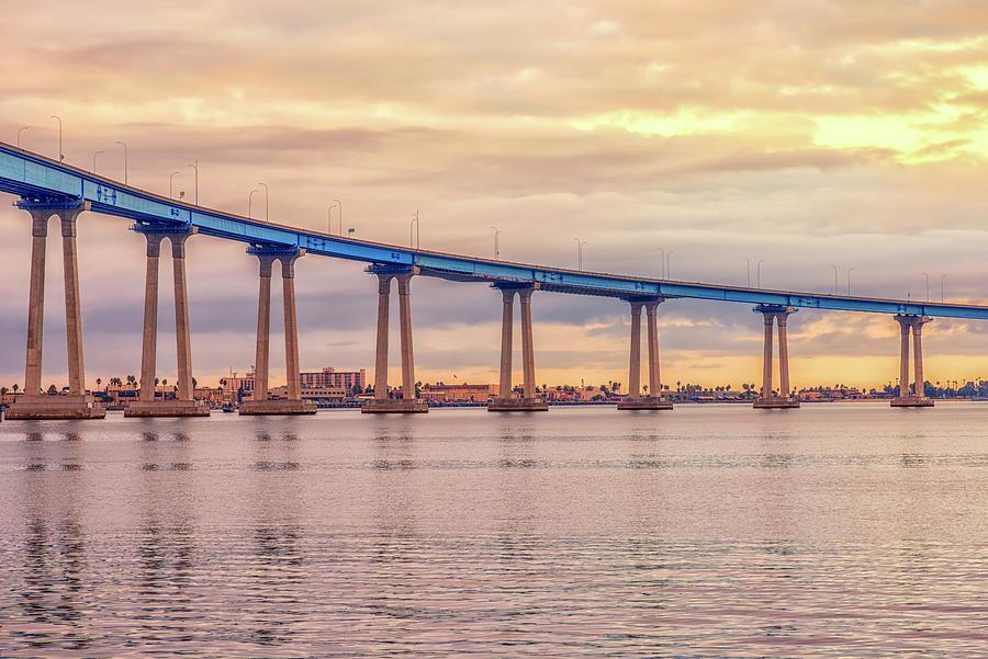 Harbor Photograph - Coronado Blue by Joseph S Giacalone