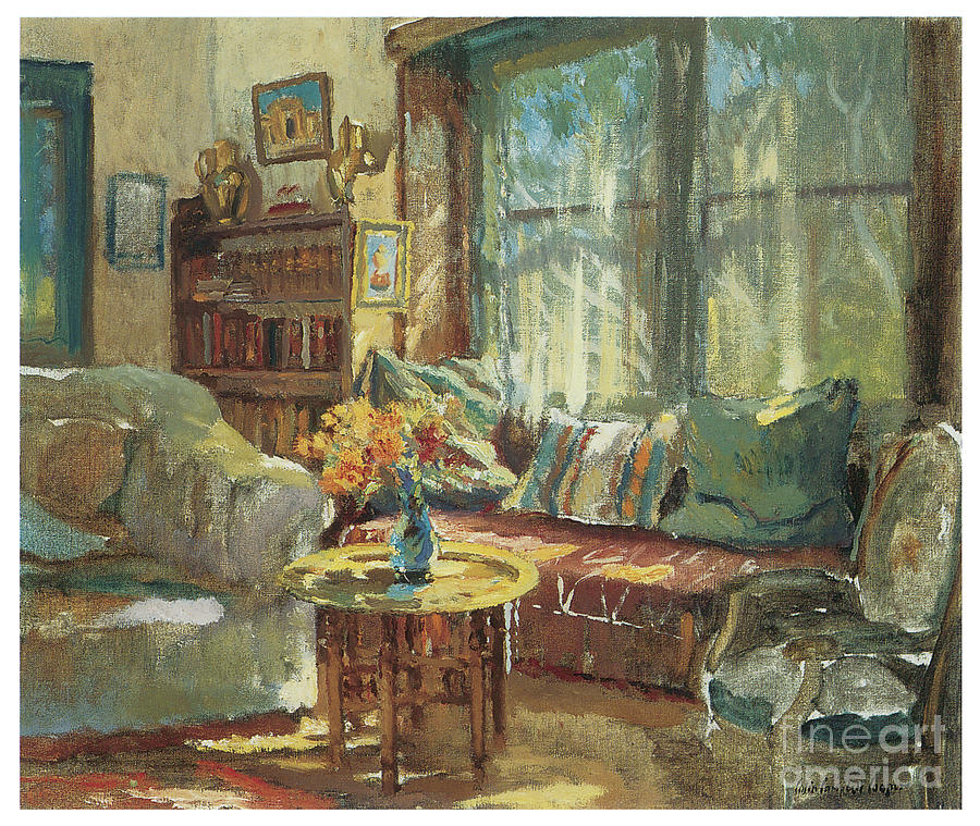 Cottage Interior by COLIN CAMPBELL COOPER