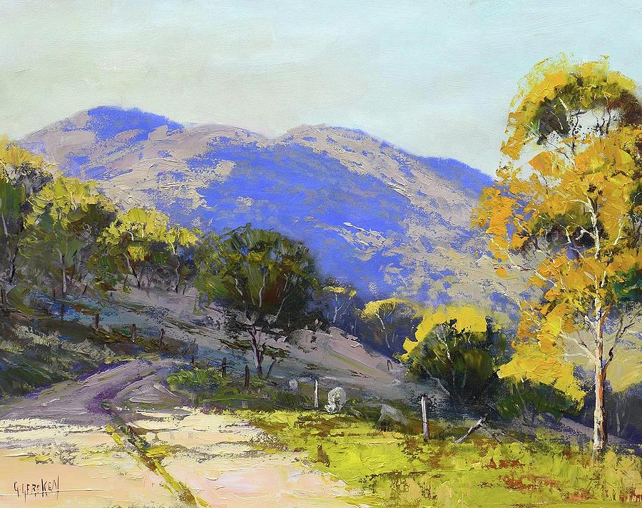 Nature Painting - Country Road Australia by Graham Gercken