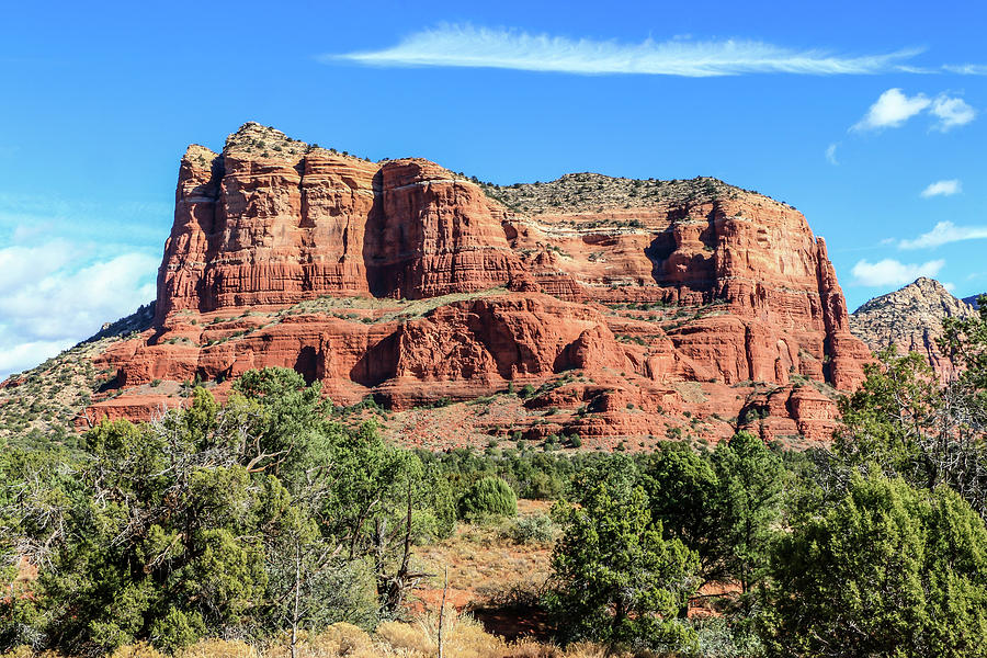 Courthouse Rock, Sedona by Dawn Richards