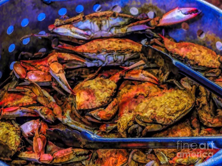 Crab Feast by Paulette Thomas