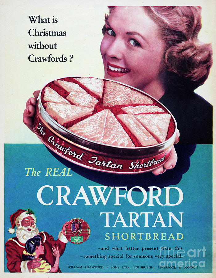 Crawford Tartan Shortbread Photograph by Picture Post