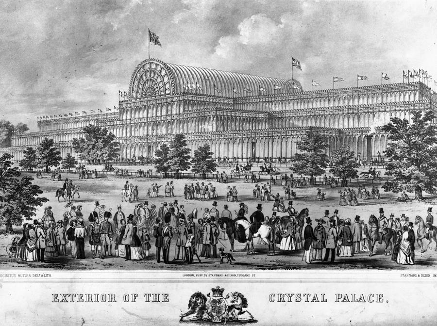 Crystal Palace Digital Art by Hulton Archive