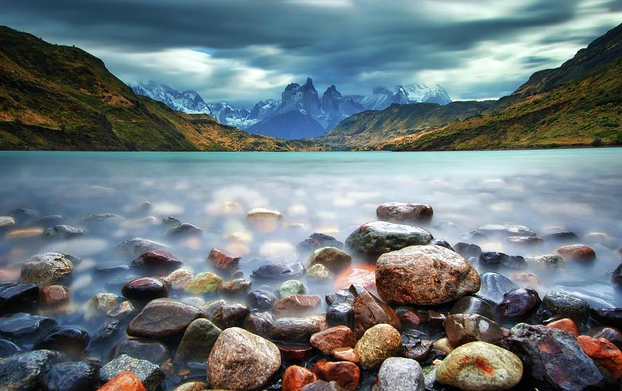 Cuernos Del Paine Photograph by Thienthongthai Worachat
