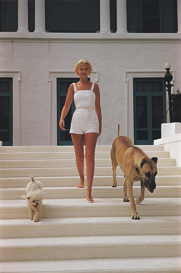 C.z. Guest Photograph by Slim Aarons