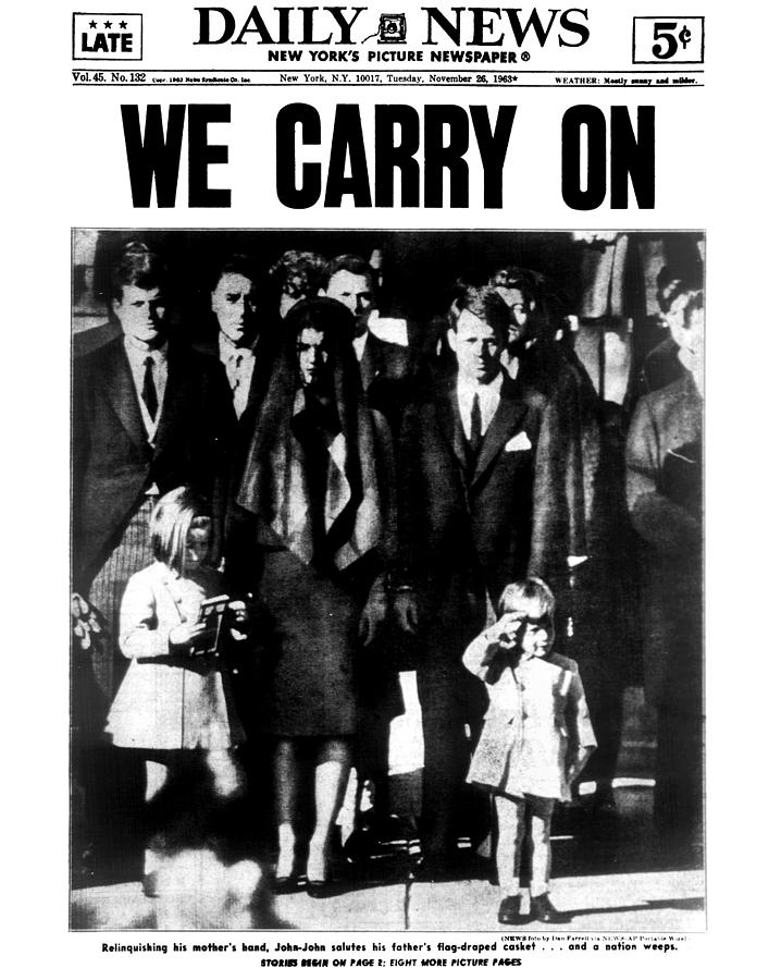 Daily News Front Page Photograph by New York Daily News Archive