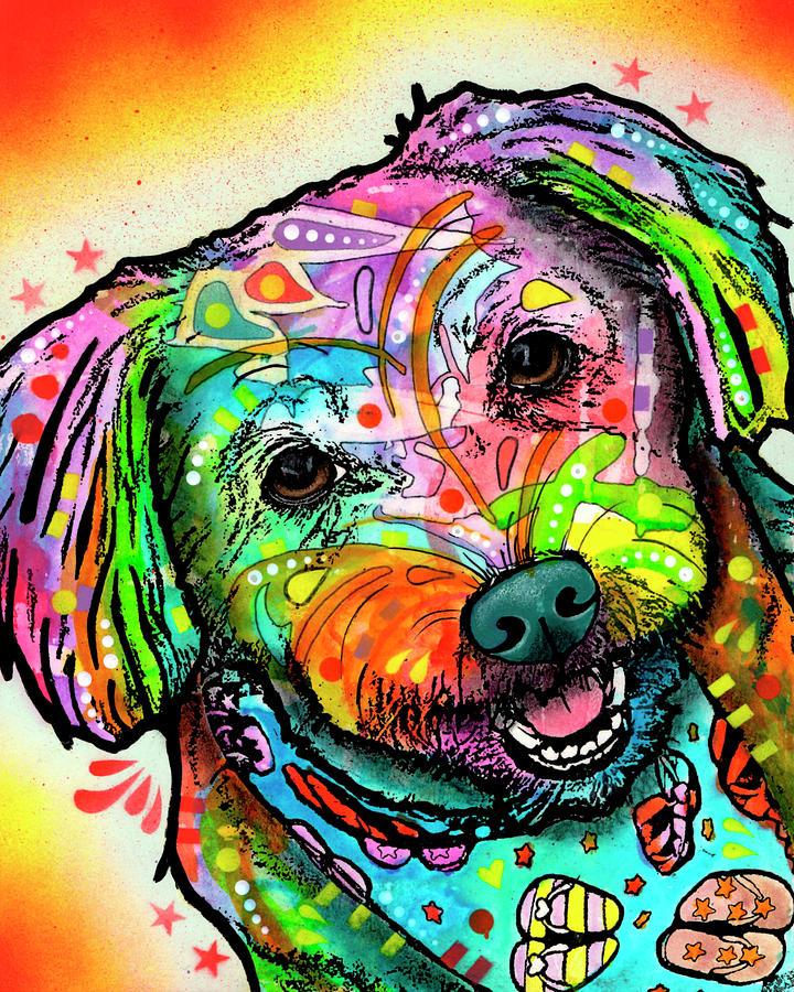 Daisy Mixed Media - Daisy by Dean Russo