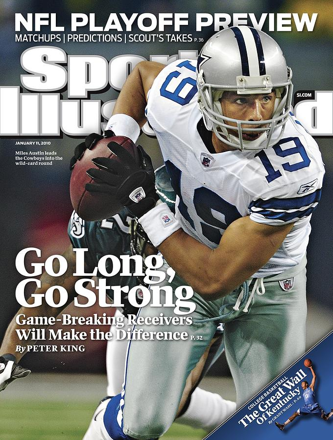 Dallas Cowboys Miles Austin... Sports Illustrated Cover Photograph by Sports Illustrated