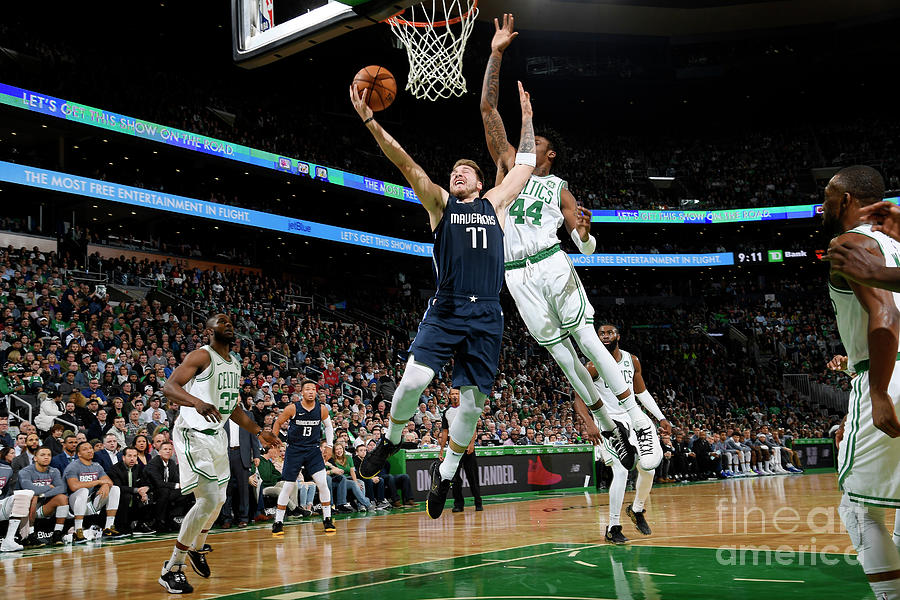 Dallas Mavericks V Boston Celtics Photograph by Brian Babineau