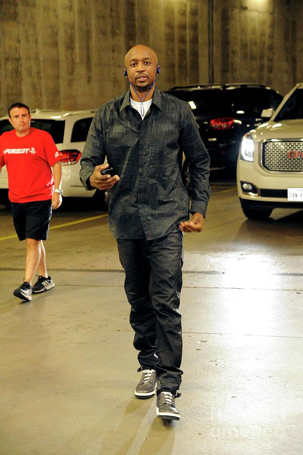 Dallas Mavericks V Houston Rockets- Photograph by Bill Baptist