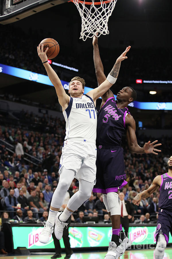 Dallas Mavericks V Minnesota Photograph by Jordan Johnson
