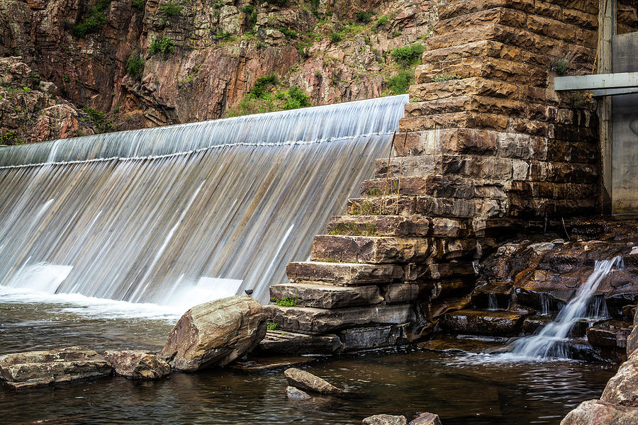 Dam In Waterton Canyon, Colorado by Jeanette Fellows