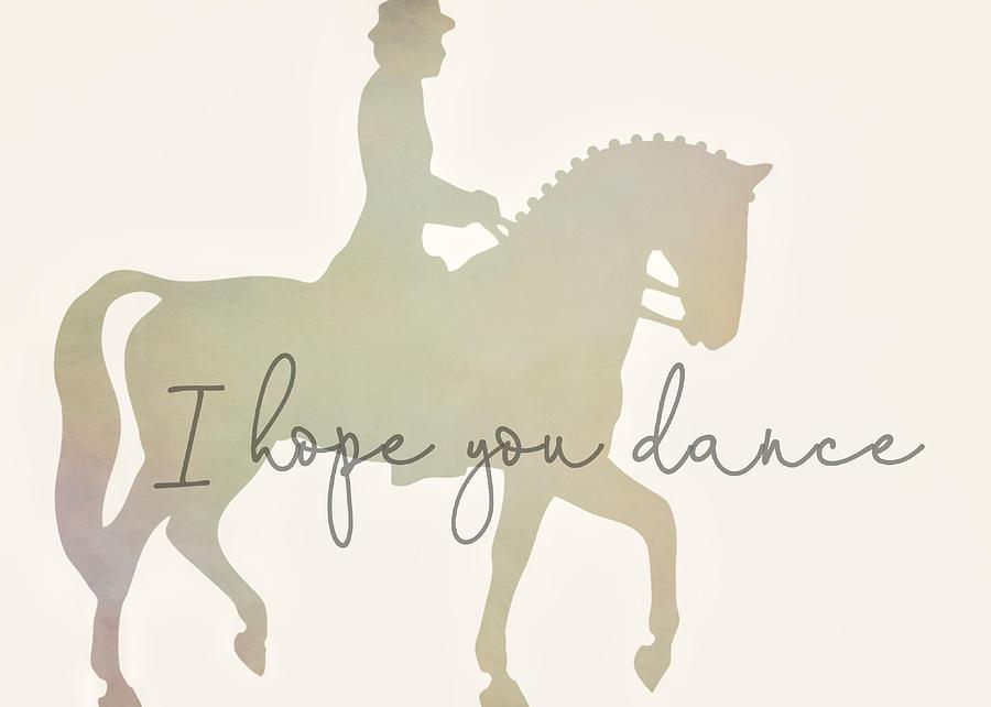 DANCE PARTNER ART by Dressage Design