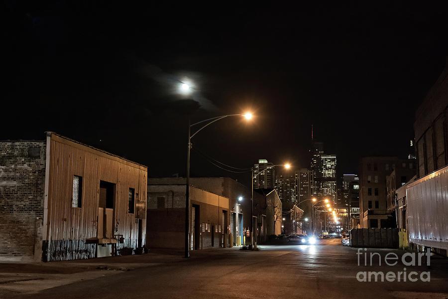 Building Photograph - Dark City II by Bruno Passigatti
