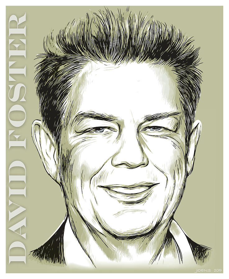 David Foster Digital Art - David Foster by Greg Joens