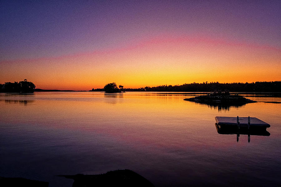 Dawn On The River by Tom Singleton