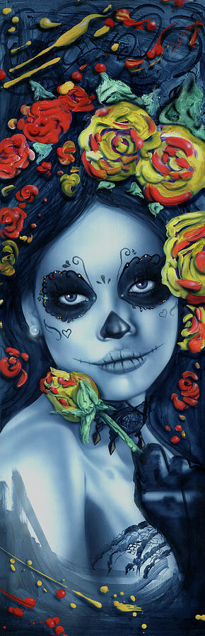 Day Of The Dead 1 Painting