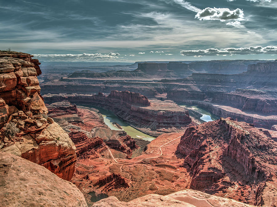 Dead Horse Point Photograph - Dead Horse Point by Mark Langford