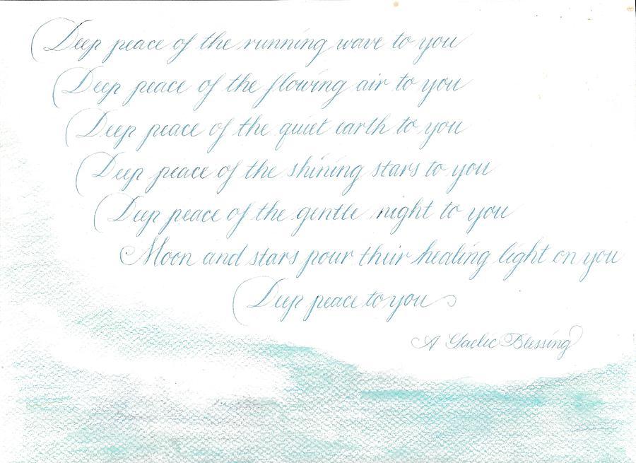 Deep Peace by Valerie Bassett