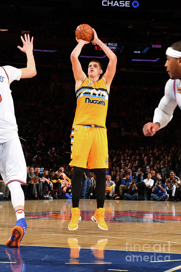 Denver Nuggets V New York Knicks Photograph by Jesse D. Garrabrant