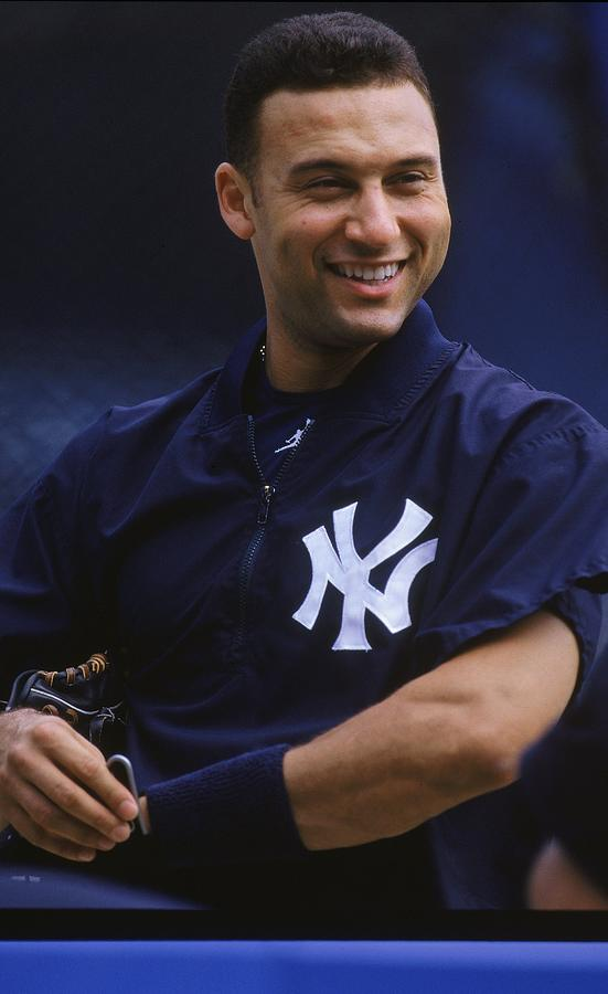 Derek Jeter 2 Photograph by Jamie Squire