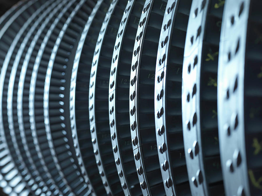 Detail Of Turbine Photograph by Monty Rakusen