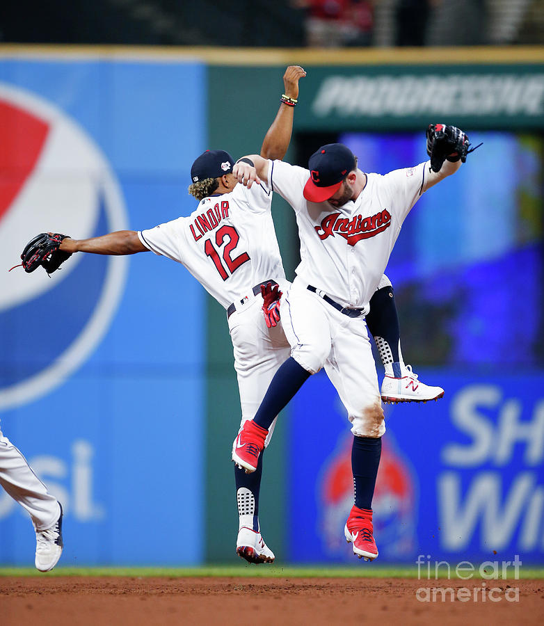 Detroit Tigers V Cleveland Indians Photograph by Ron Schwane