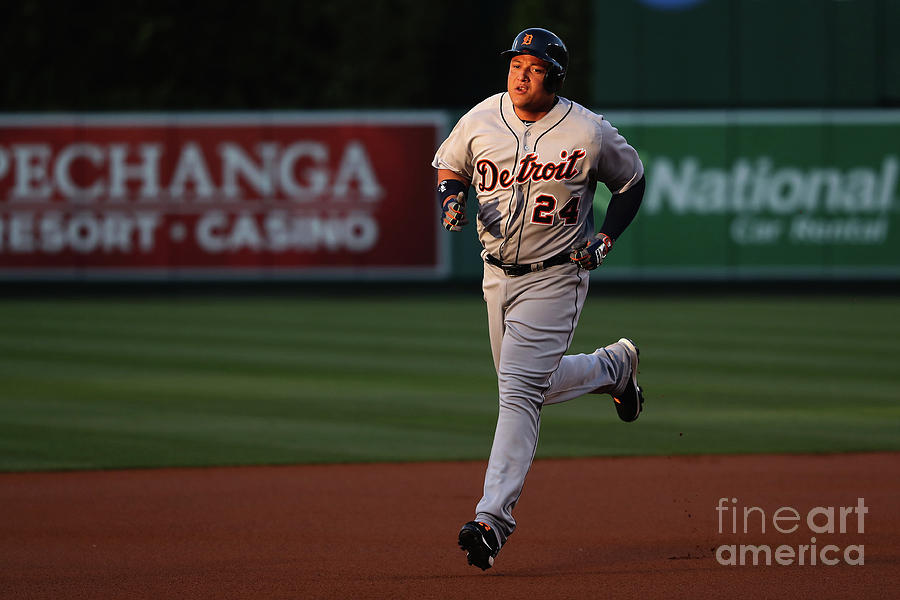 Detroit Tigers V Los Angeles Angels Of 1 Photograph by Sean M. Haffey