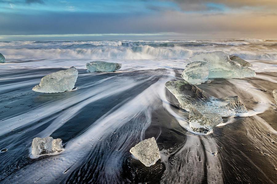 Diamond Beach Iceland IIi Photograph